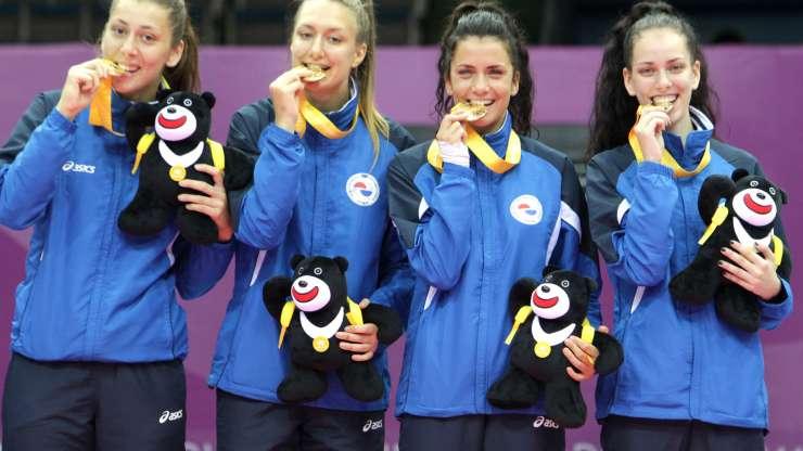 Ženski tim osvojio zlato na Univerzijadi