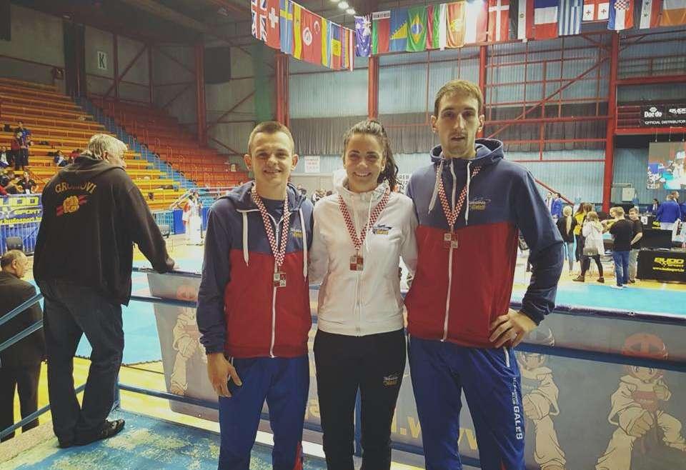 Galebu 6 medalja na Croatia Open turniru
