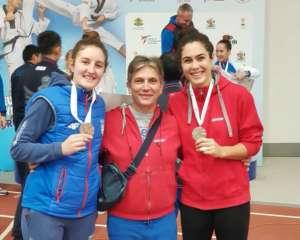 Milica srebrna, Nađa bronzana na EP u olimpijskim kategorijama