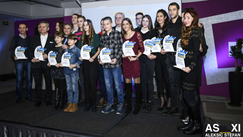 Izabrani najbolji takmičari TK Galeb u 2017. godini