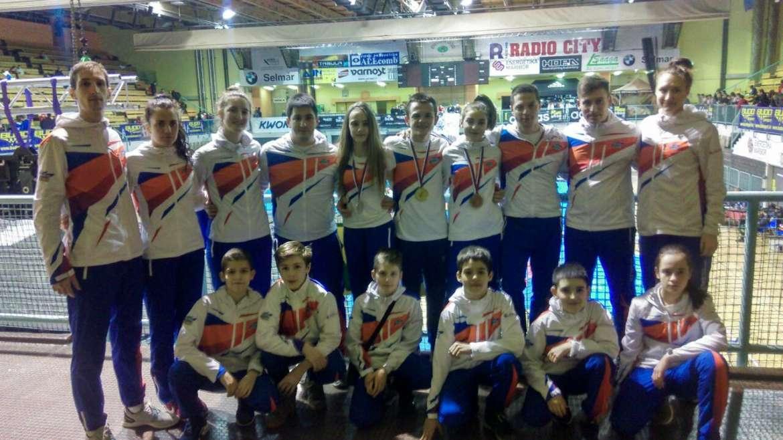 Dmitrij, Andrea i Milica osvojili medalje u Sloveniji