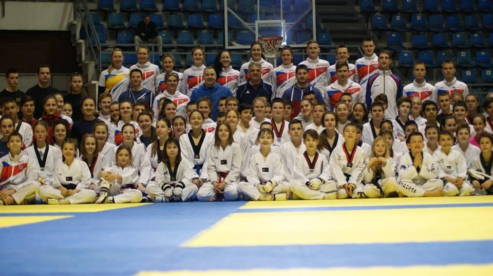 """Više od 120 takmičara na treningu u okviru projekta """"Razvoj šampiona Olimpijske igre 2020/2024"""""""