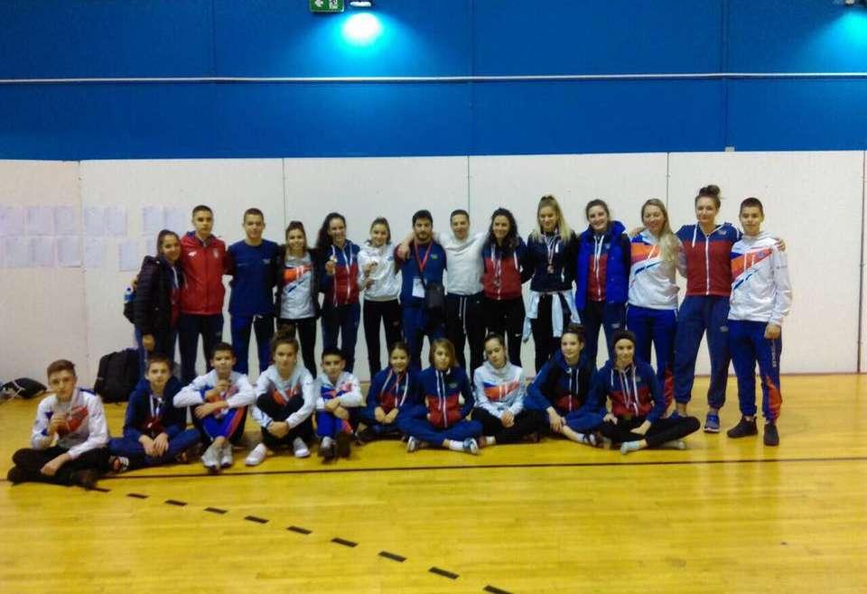 Dva zlata, dva srebra i četiri bronze na Croatia Open turniru