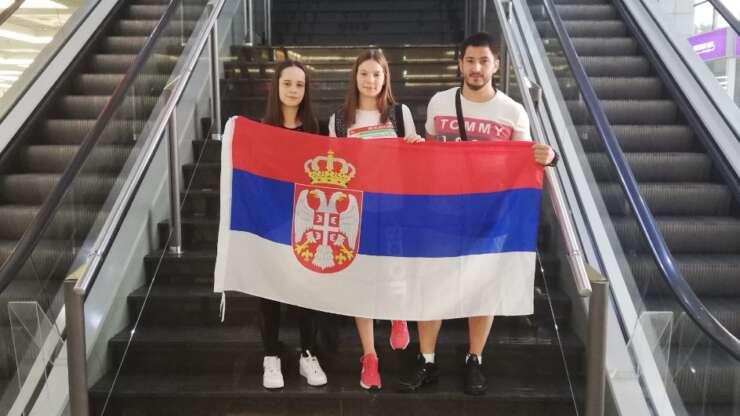 Nikolina i Maša na kadetskom SP u Uzbekistanu