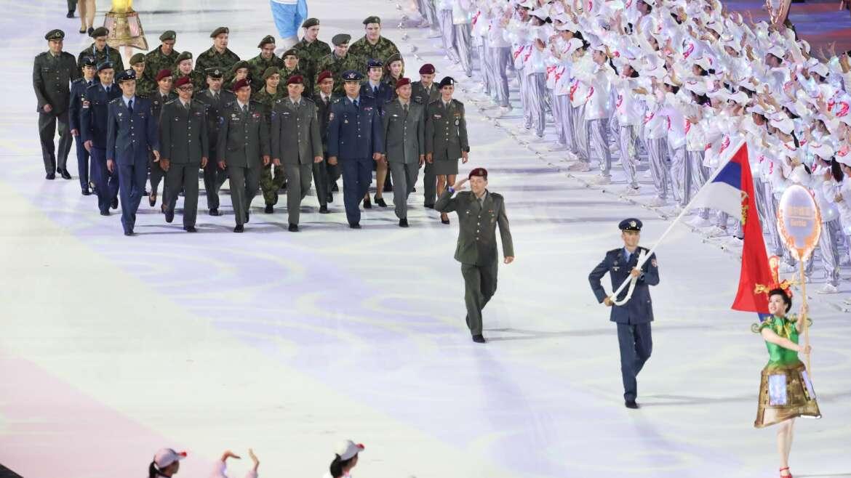 Otvorene 7. CISM svetske vojne igre u Kini – Tijana predstavlja tekvondo
