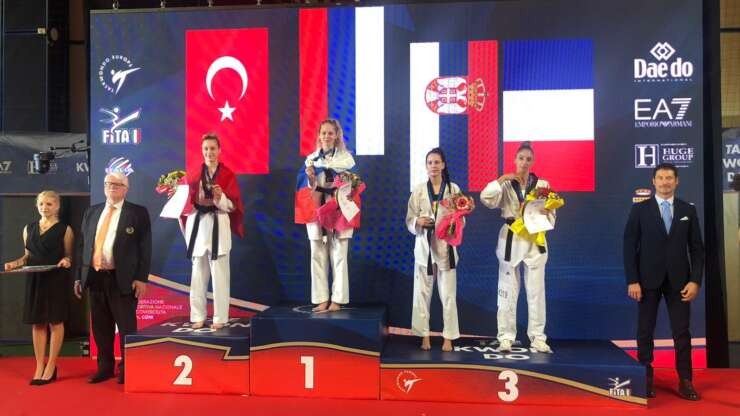 Tijana bronzana na Ekstra evropskom šampionatu