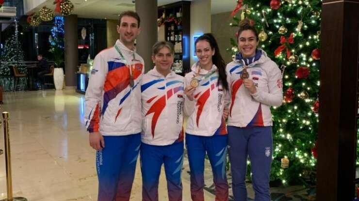 Milica Mandić i Budimir Krivokuća bronzani na EP u olimpijskim kategorijama