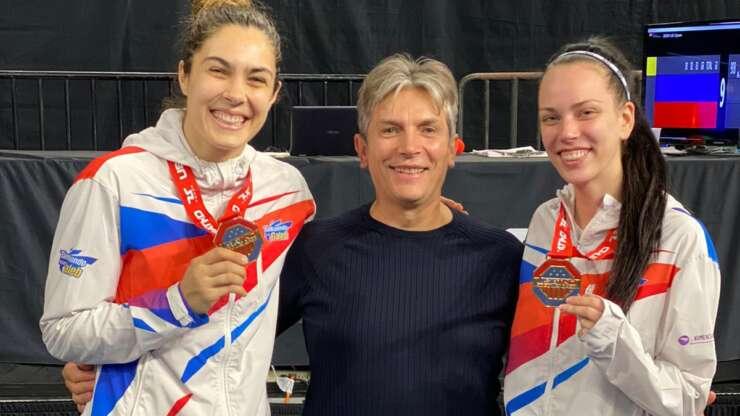 Milica Mandić i Tijana Bogdanović zlatne na US Open turniru