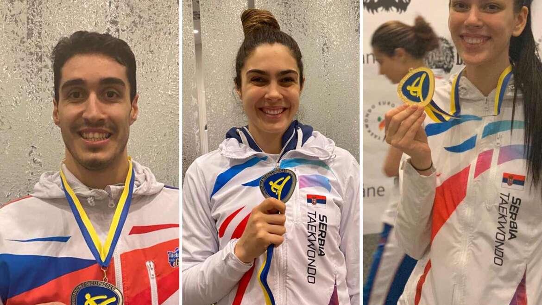 Tijana zlatna, Milica i Mahdi vicešampionski